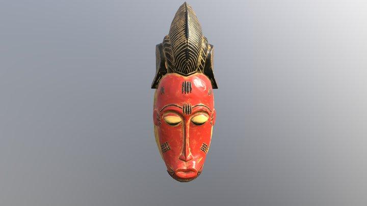 Guro african mask 3D Model