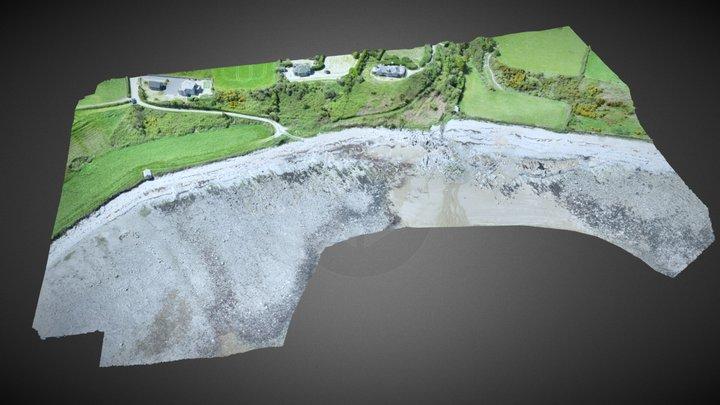 Mourne Geology & Coastal Processes Glasdrumman. 3D Model