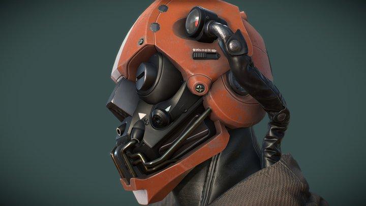 HelmetConcept 3D Model