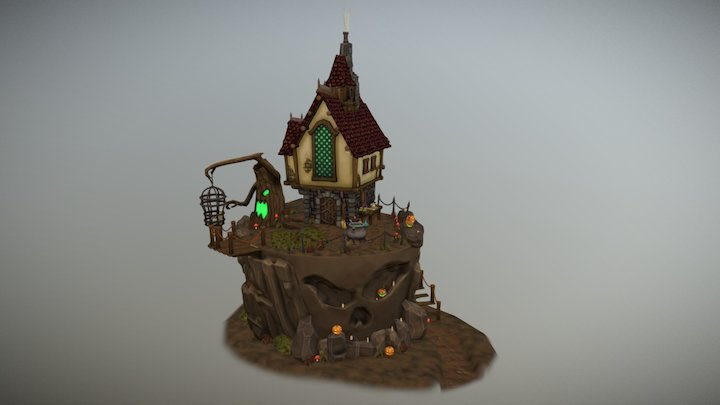 The Witch's Lair 3D Model