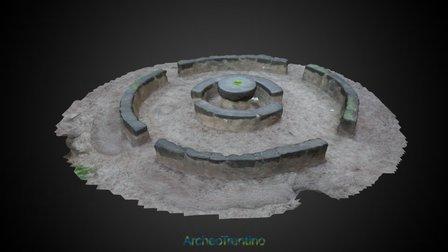 Banc de la Reson 3D Model