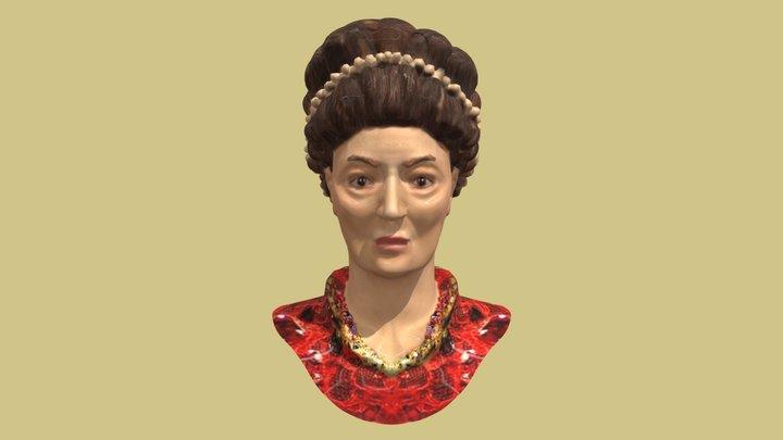 Theodora Byzantine Empress 3D Model