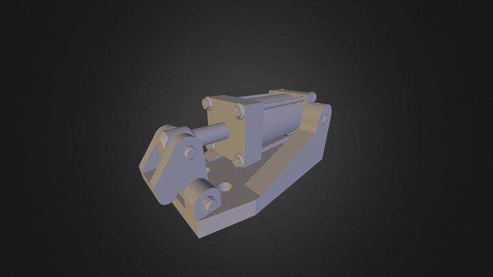 Cylinder Clamp 3D Model