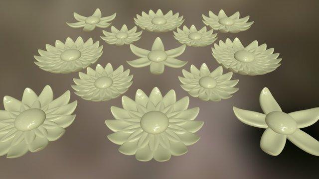 So Many Flowers 3D Model