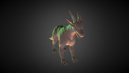 Racedragon Hidden Version 3D Model