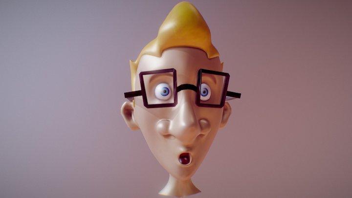 Karl, prit sur le vif ! 3D Model