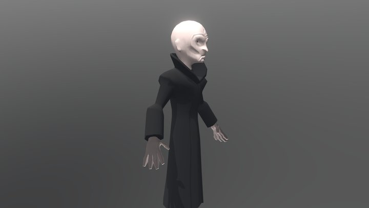 Supreme Leader Snoke Disney Infinity 3D Model