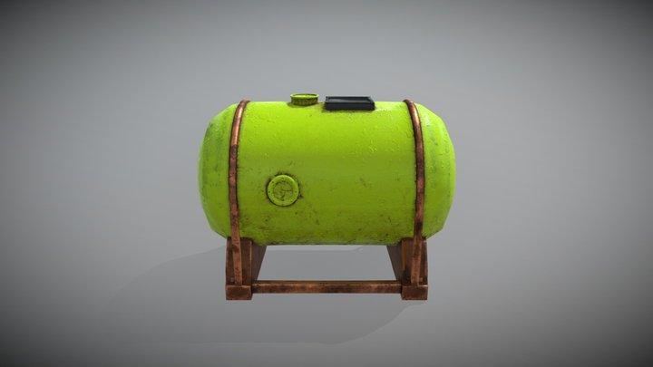 Steam Boiler 3D Model