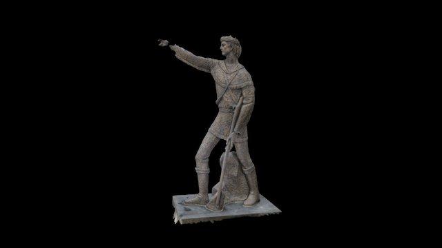 Simon Kenton 3D Model