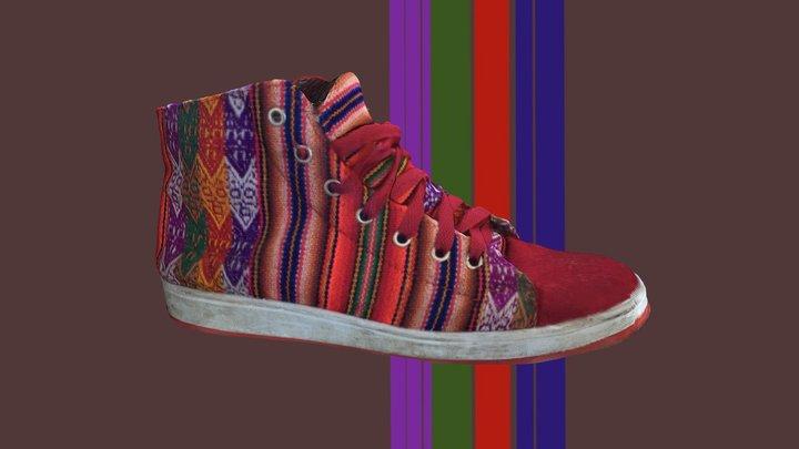 Bolivian shoe 3D Model