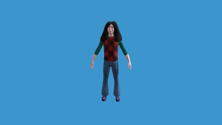 James Patrick 3D Model