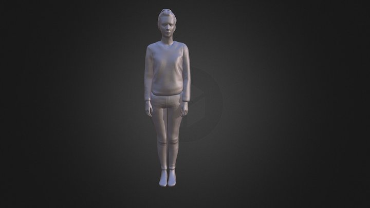 Character Photogrammetry - Herlinde 3D Model