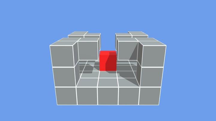 Betti_1 jumps +4 3D Model