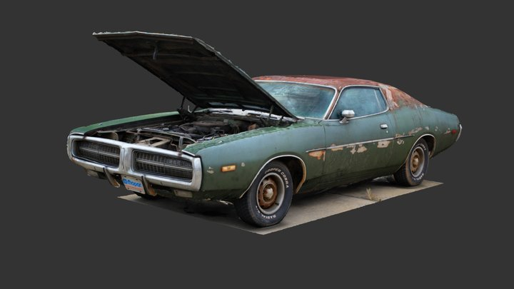 1972 Charger (3D Scan) 3D Model