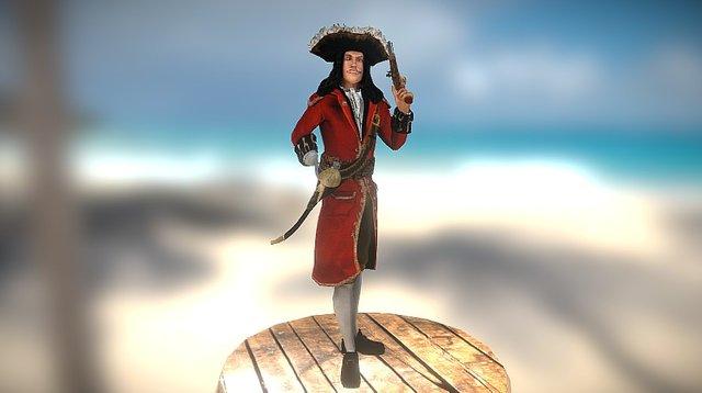 Captain Hook 3D Model