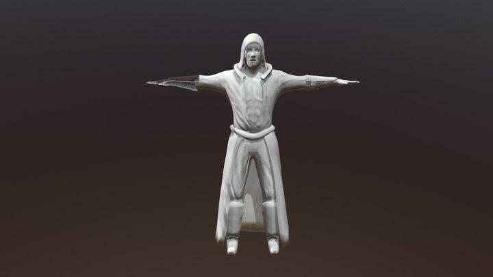 Gideon Aungil 3D Model
