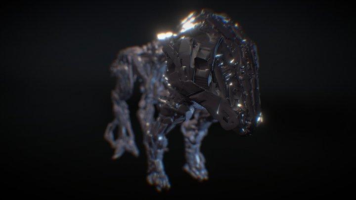 Battle Mech Taurus  Concept Design 3D Model