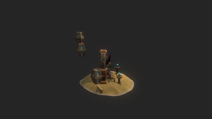 The Honours Project - The Portal Scene 3D Model