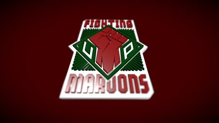 UP FIGHTING MAROONS 3D Model