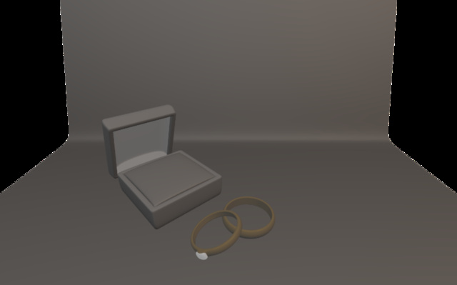 gold .blend 3D Model