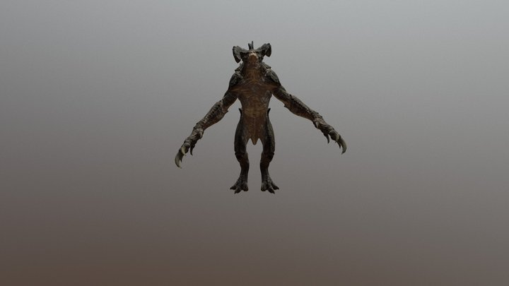 Deathclaw(FallOut 4) 3D Model