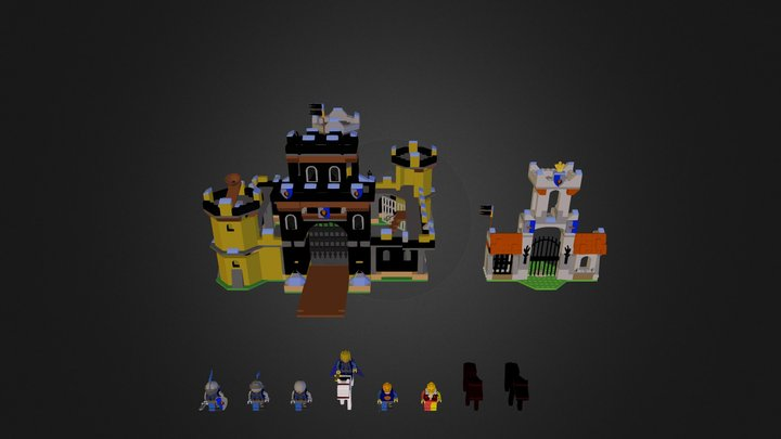 Castell rei 3D Model
