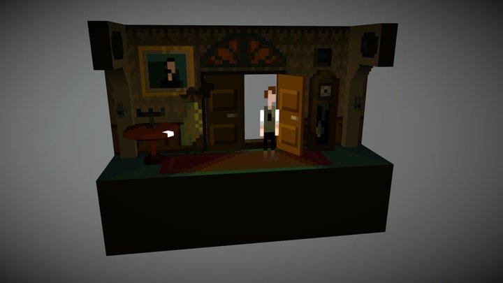 The Last Door 3D 3D Model