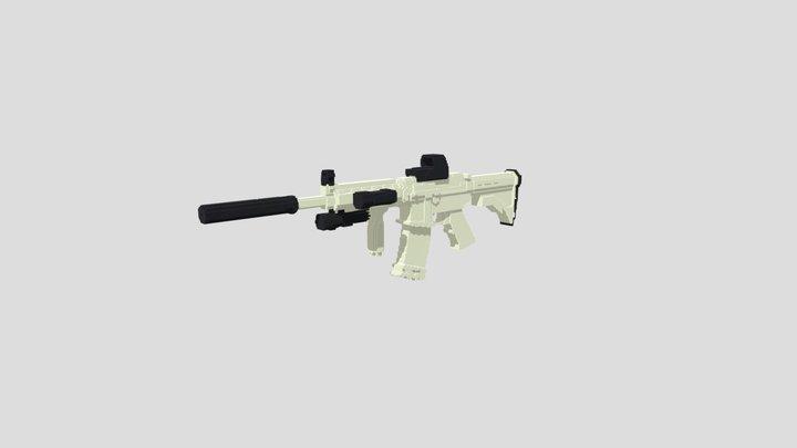 (Beta) M4A1 3D Model