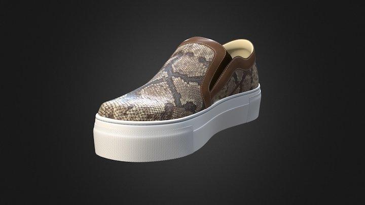 Sneaker Noby 3D Model