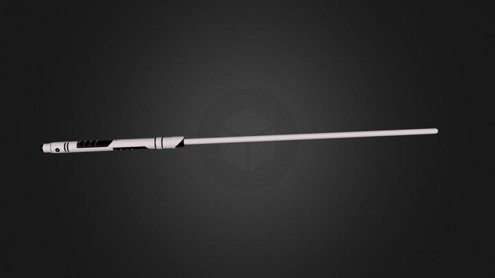 Lightsaber Design 7 3D Model