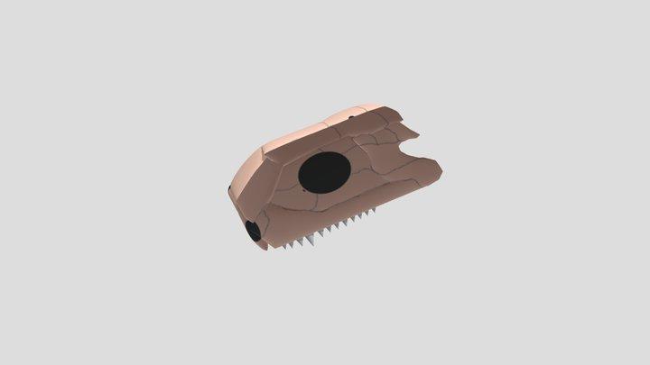 Generalized Tetrapod Dermal Skull 3D Model