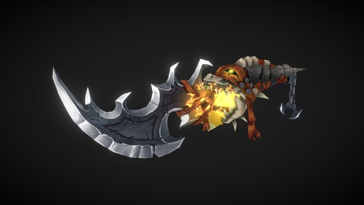 WeaponCraft - Dragon Scourge 3D Model