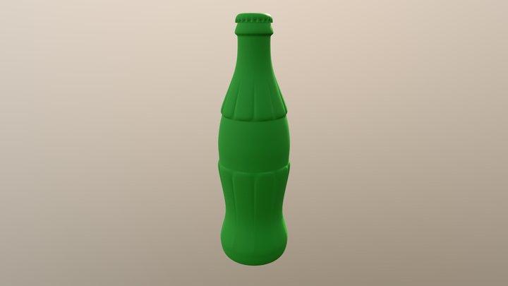 Bottle Coca- Cola N080710 3D Model