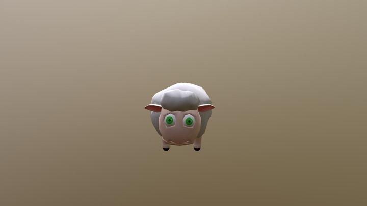 Sheep Baa Animation 3D Model