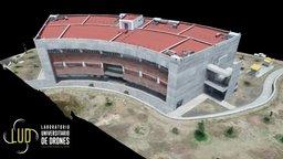 Centro de Información, Computo e Idiomas (Ed. F) 3D Model