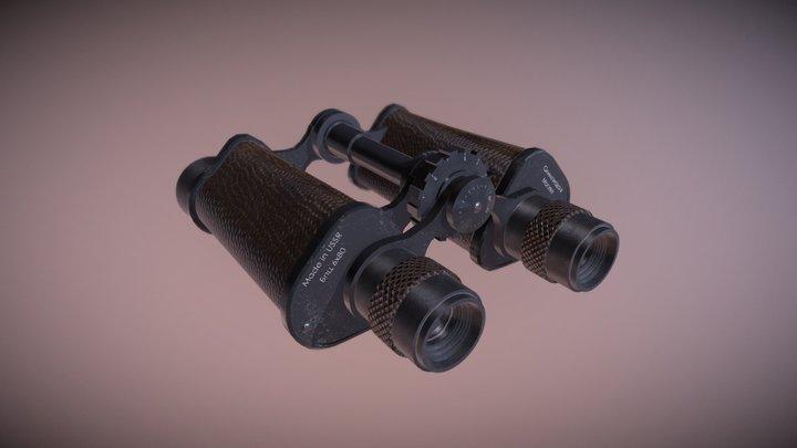 Old Binoculars 3D Model