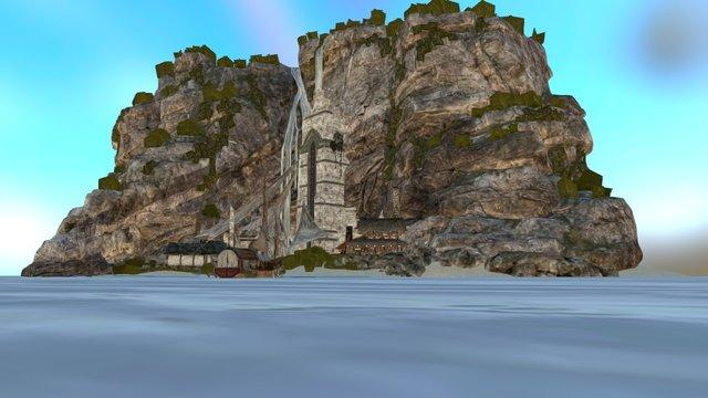 Praia. 3D Model