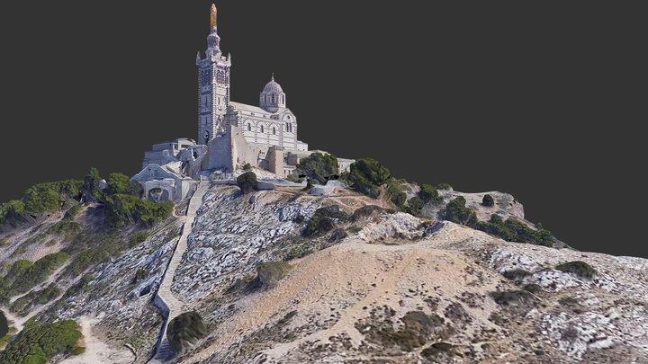 Basilique Notre-Dame-de-la-Garde / Marseille 3D Model