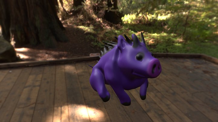 Hellpig 3D Model
