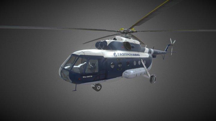Mi-18 (by LightProduction) 3D Model