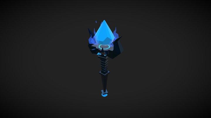 Magic staff 3D Model