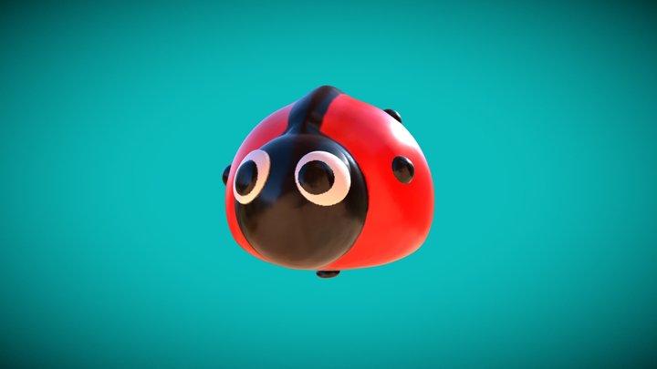 Medium | Ladybug-Balloon 3D Model