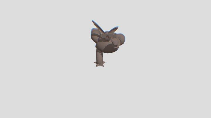 Swing Dancing 3D Model