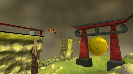 Shaolin Temple - Tiger Parkour 3D Model
