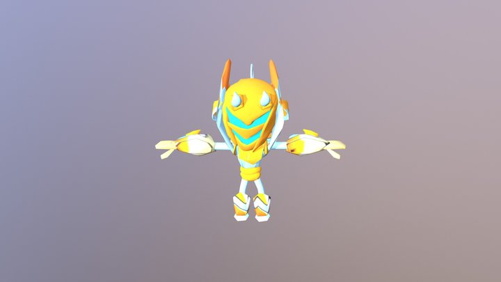 Orion (Low Poly) 3D Model