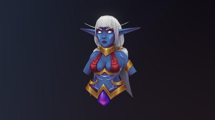 Nightborne Shal'dorei 3D Model