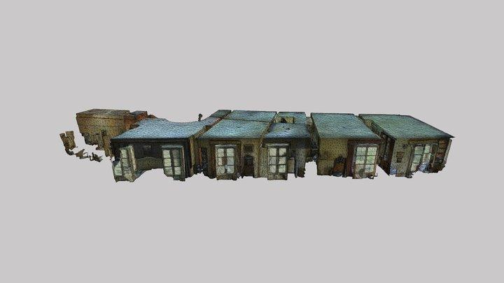 3D Appartement Montmartre 3D Model
