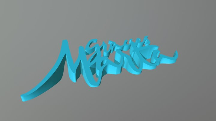 Gràcies Marta 3D Model