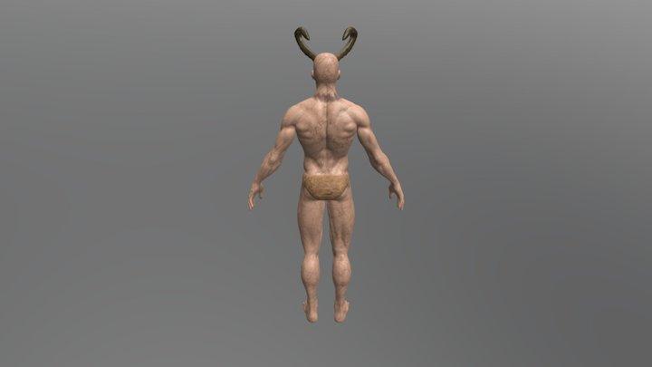 Astaroth T-pose 3D Model