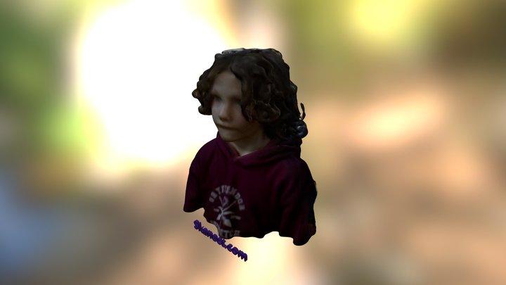 LetsBuildRobots - Nyle Head 3D Model